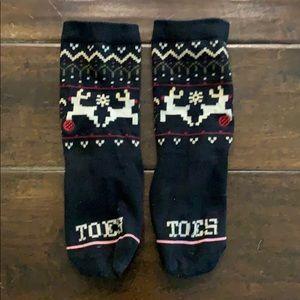 Reindeer Stance Socks